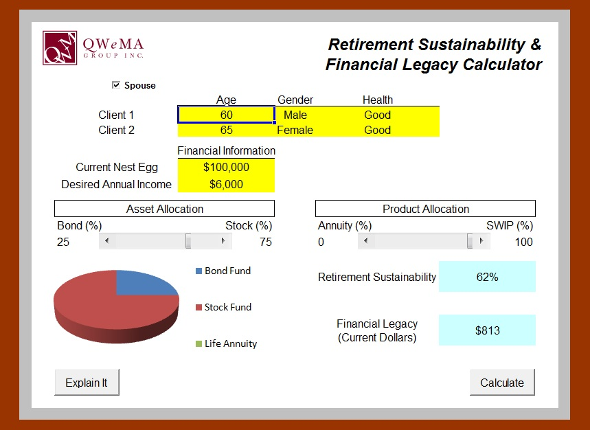 retirement-sustainability-financial-legacy-calculator